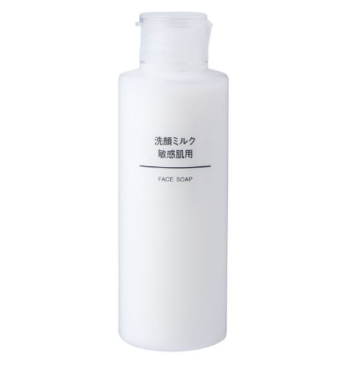 MUJI 無印良品 敏感肌洗面乳