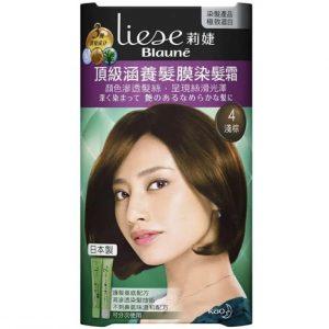 花王莉婕Liese 頂級涵養髮膜染髮霜